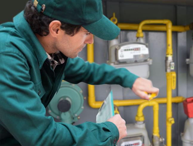 Boletín de gas natural en Rivas Vaciamadrid