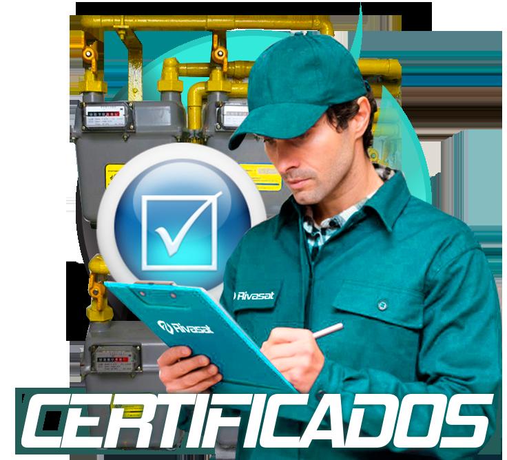 Certificado de Gas Natural en Rivas Vaciamadrid