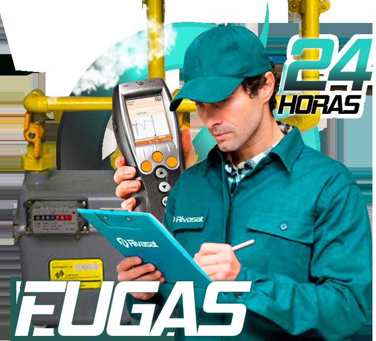Reparación Fugas Gas Natural Rivas Vaciamadrid